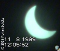Sonnenfinsternis 11.8.1999, 12:05:52